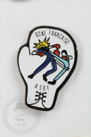 Boxe/ Boxing Frarcaise ASBF Pin Badge #PLS - Boxeo