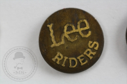 Lee Riders Trademark - Pin Badge #PLS - Marcas Registradas