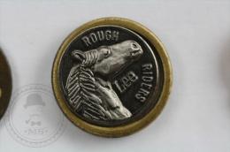 Lee Rough Riders Trademark - Pin Badge #PLS - Marcas Registradas