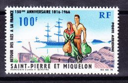 St Pierre Et Miquelon Mi.#416 ** 1966 - St.Pierre Et Miquelon