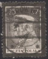 Poland, 25 G. 1935, Sc # 289, Mi # 296, Used - Gebruikt