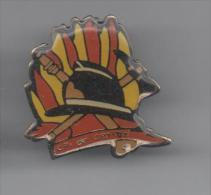 PINS PIN'S  POMPIER SP POMPIERS CPI DE CHRISTAL - Pompiers