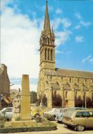 """CP De Saint-CAST  """" L'église Et Le Monument Aux Morts """" . - Saint-Cast-le-Guildo"""