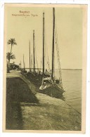 IRAQ BAGDAD BAGDHAD Segelschiffe Am Tigris - Irak
