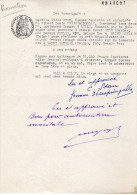 VP1151 - Acte Procuration Mmes STAN à LILLE Pour Un Pret  Hypothécaire Sur Un Immeuble à SAINT - MAURICE ( Seine ) - Manuscrits
