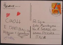 HELVETIA SVIZZERA SWISS SCHWEIZ SWITZERLAND 2000 Class A St. Moritz, Used Usato COMPLETE COVER Letter - Storia Postale