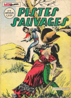 Pistes Sauvages N° 9 - Editions Aventures Et Voyages - Avec Kirbi Flint, Sunday Et Jim Minimum - Septembre 1972 - BE - Petit Format