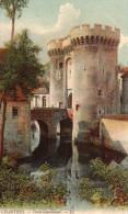 Cpa 1915 Chromo CHARTRES, La Porte Guillaume Traitée En Toute Poésie (39.59) - Chartres