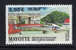 MAYOTTE- P.A N°5- Neuf Sans Charnière ** - Aéreo