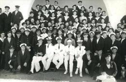 Maroc Casablanca Rescapé Du Croiseur Mouilleur De Mines Pluton Ancienne Photo Katel Sept 1939 - Photographs