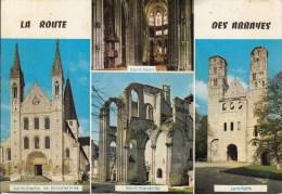 La ROUTE Des ABBAYES : St Martin De Boscherville, St Ouen, St Wandrille, Jumièges - France