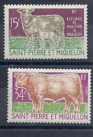 140014113  ST  PIERRE ET MIQUELON YVERT  Nº  407/9  */MH - Nuevos