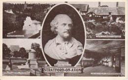 PC Stratford-on-Avon - Multiview - Shakespeare - 1949 (6432) - Stratford Upon Avon