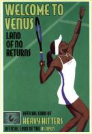 Venus Williams Postcard - Size 15x10 Cm. Aprox. - Tenis