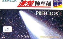 Télécarte Espace (80) COMETE  * Japan SPACE * COMET * WELTRAUM * UNIVERSE * PLANET - Astronomie