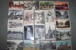 Débarras De Mes Cartes - Lot De 146 Cartes BOUCHES DU RHONE (dont Marseille - Grands Bains, Camp Ste Marthe, Trets, Aix - Non Classificati