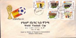 ETHIOPIA - World Football Cup  / FDC 1982 - 1982 – Espagne