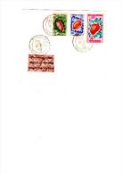 Enveloppe 1er Jours, Coquillages Avril 1953 Belle Illustration.10f    20f   50f Poste Aérienne - Wallis Und Futuna