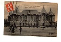 Cp , 59 , LILLE , Le Musée Des Beaux Arts , Voyagée - Lille