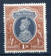 India 1937-40Scott #162  MNH**VF Elephant  Part - Zonder Classificatie