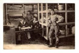 Cp , Militaria , Caserne , TOULON , 5 E Dépot , Magasin De La Literie , écrite 1919 , Ed : Marius Bar - Casernas