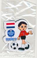 DORAEMON - BRASIL 2014 FOTBALL WORLD CUP FRIDGE MAGNET NETHERLAND - SEALED - Characters