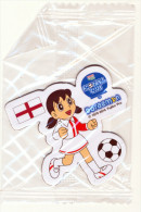 DORAEMON - BRASIL 2014 FOTBALL WORLD CUP FRIDGE MAGNET ENGLAND - SEALED - Characters