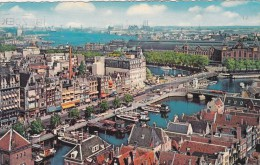 Amsterdam,Damrak With View At The Y,Nertherlands,R9. - Amsterdam