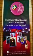 THAILAND 2013 WORLD STAMP BADGE NEW SEALED