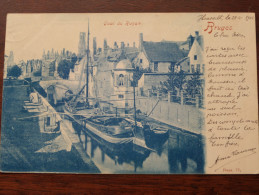 Quai Du Rosair ( 77 ) Anno 1902 ( Scheepvaart / Zie Foto Voor Details ) !! - Brugge