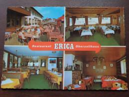 "Pension "" ERICA "" Restaurant ( Bes. Rudolf Kern ) Oberzollhaus 8967 Oy-Mittelberg / Zie Foto Voor Details ) !! - Hotels & Restaurants"