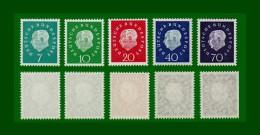 .1959 BRD Bund kompl. Jahrgang mit Block 2 und Einzelmarken Mi.-Nr. 302-325; 310-311 a+b;  postfrisch  (A40)