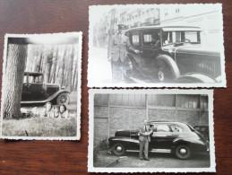 Old Vieux Oud Automobile Cars Voiture / Te Identificeren / Identify (?) - ( Details Zie Foto´s ) ! - Automobiles