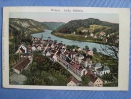 CP Carte Postale Postkarte Wehlen Sächs Schweiz (3) - Wehlen