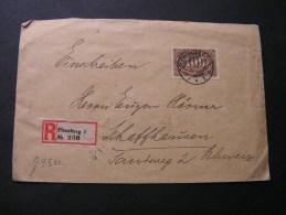 == DR Infla R-Flensburg 1923  EF - Briefe U. Dokumente