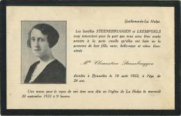 Galmaarden :  Gallemarde- La Hulpe  (  Regarder  Scan Pour Detail ) : Les Familles Steenebruggen - Leempoels - La Hulpe