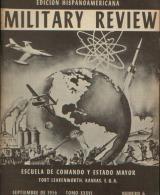 MILITARY REVIEW EDICION HISPANOAMERICANA SEPTIEMBRE 1956 - Magazines & Papers