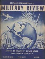 MILITARY REVIEW EDICION HISPANOAMERICANA AGOSTO 1956 - Spanish