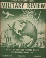 MILITARY REVIEW EDICION HISPANOAMERICANA JULIO 1956 - Spanish