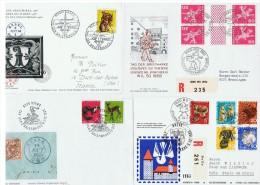 """Suisse  / 4 """" Journées Du Timbre """" 1965 à 1968 - Svizzera"""