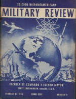 MILITARY REVIEW EDICION HISPANOAMERICANA FEBRERO 1956 - Spanish