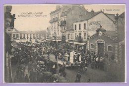 71 - CHALON Sur SAONE --  Cavalcade Du 12 Février 1907 - Chalon Sur Saone