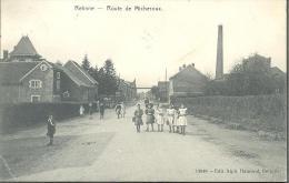 (B509) Retinne. Route de Micheroux. PRACHTKAART. RARE RARE !!!
