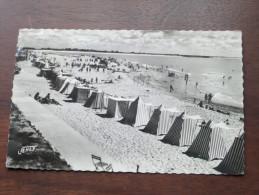"""Plage De La Tranche-sur-Mer """" Vendée """" ( 328 ) Anno 195? ( Zie Foto Voor Details ) !! - Moutiers Les Mauxfaits"""
