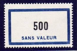FRANCE FICTIF N° F138 ** Timbre Neuf Gomme D´origine Sans Trace De Charnière - TB - Finti