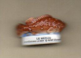 Fève Brillante MEROU Poisson WWF Champions - Tiere