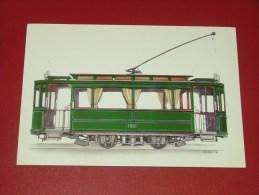 BRUXELLES - Société Des Transports Intercommunaux - Voiture Motrice  Début 1900 - Illustrateur Lensen - Vervoer (openbaar)