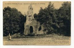 CP , 86 , LA PETITE GUERCHE , Ruines De La Chapelle De Notre-Dame De Prélong - France