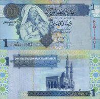 Libya 1 Dinar 2004  Pick 68 UNC - Libya