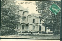 Chateau De La Barbotiniere  Par LA HAYE DESCARTES (I ET L)  ( Inédit Sur Delcampe à Ce Jour ) - Eab32 - France